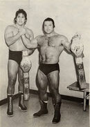 Ivan Putski and Tito Santana