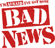 Bad News Logo cut by Danger Liam