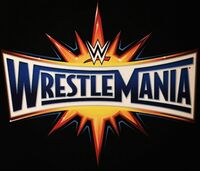 WrestleMania 33 logo
