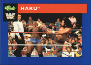 1991 WWF Classic Superstars Cards Haku 55