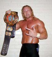 Jerry Lynn ECW World Heavyweight