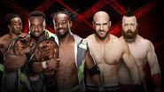 HIAC 2016 New Day v Cesero and Sheamus