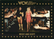 1991 WCW Collectible Trading Cards (Championship Marketing) Missy and Scott 69
