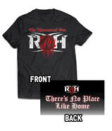 AJ STYLES THERE'S NO PLACE LIKE HOME RED T-SHIRT