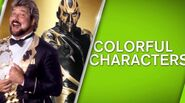 WWE Network Colorful Characters