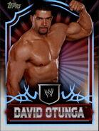 2011 Topps WWE Classic Wrestling David Otunga 16
