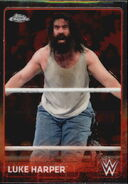 2015 Chrome WWE Wrestling Cards (Topps) Luke Harper 45