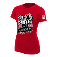 Shinsuke Nakamura Strong Style Has Arrived Women's Authentic T-Shirt
