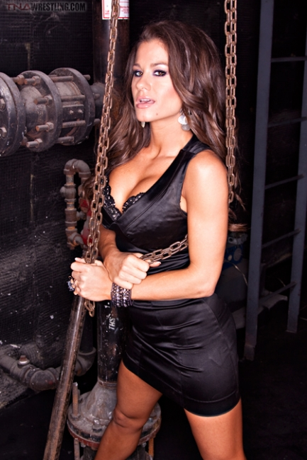 brooke adams wrestling