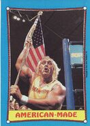 1987 WWF Wrestling Cards (Topps) American-Made 35