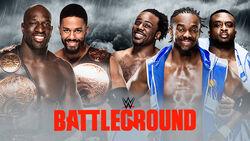 WWE Battleground 2015 - Tag Team Championship