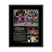 WWE Royal Rumble 2016 New Day 10.5 x 13 Photo Collage Plaque