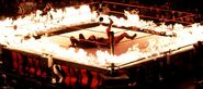 Undertaker vs Kane in the inferno match on Raw February 22 1999