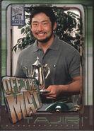 2002 WWF All Access (Fleer) Tajiri 68