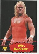2012 WWE Heritage Trading Cards Mr. Perfect 92