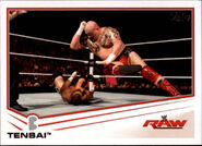 2013 WWE (Topps) Tensai 70