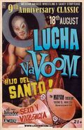 Lucha VaVoom Anniversary Show 2011 Poster