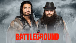 WWE Battleground - Roman Reigns vs. Bray Wyatt
