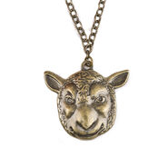 Wyatt Family Sheep Mask Pendant