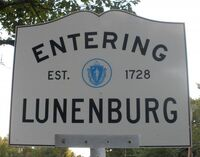Lunenburg, MA (City Sign)