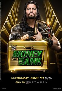 Money in the Bank 2016 poster
