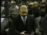 Mr. Yamaguchi distraught