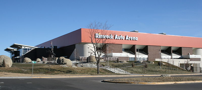 Rimrock auto arena at metrapark pro wrestling fandom for Dana motors billings mt