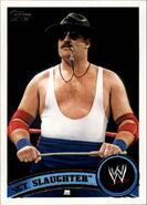 2011 WWE (Topps) Sgt. Slaughter 103