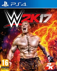 WWE 2K17 Cover (Brock Lesnar)