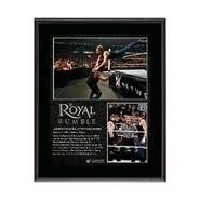 WWE Royal Rumble 2016 Dean Ambrose 10.5 x 13 Photo Collage Plaque