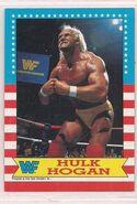 1987 WWF Wrestling Cards (Topps) Hulk Hogan 3