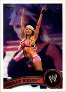 2011 WWE (Topps) Kelly Kelly 27