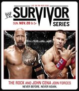 Survivor Series 2011 poster