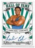 2016 Leaf Signature Series Wrestling Carlos Colon 16