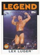 2016 WWE Heritage Wrestling Cards (Topps) Lex Luger 88