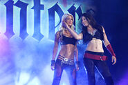 Angelina Love and Winter