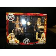 WWE Wrestling Exclusive Figure 2-Pack Wrestlemania 23 Ashley Vs. Melina