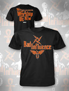Bad Influence Orange T-Shirt