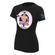John Cena Hustle Loyalty Respect Women's Authentic T-Shirt