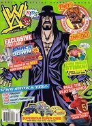 WWE Kids Magazine Holiday 2008