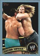 2011 WWE (Topps) Jacob Novak 88