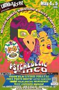 Lucha VaVoom Cinco De Mayo 2015 Poster 2