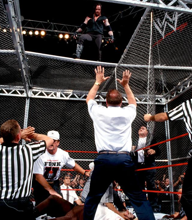 Mankind Vs The Undertaker Hell In A Cell Match