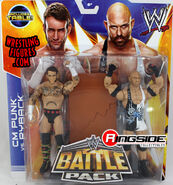 WWE Battle Packs 29 CM Punk & Ryback