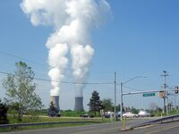 Limerick, PA Atomic Power Cooling Towers