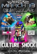 AWE Culture Shock poster