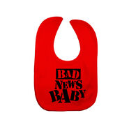 Bad News Barrett Bad News Baby Bib