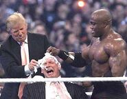 Donald Trump & Vince McMahon at WM23