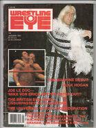 Wrestling Eye - January 1987