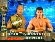 The Rock vs. Eddie Guerrero